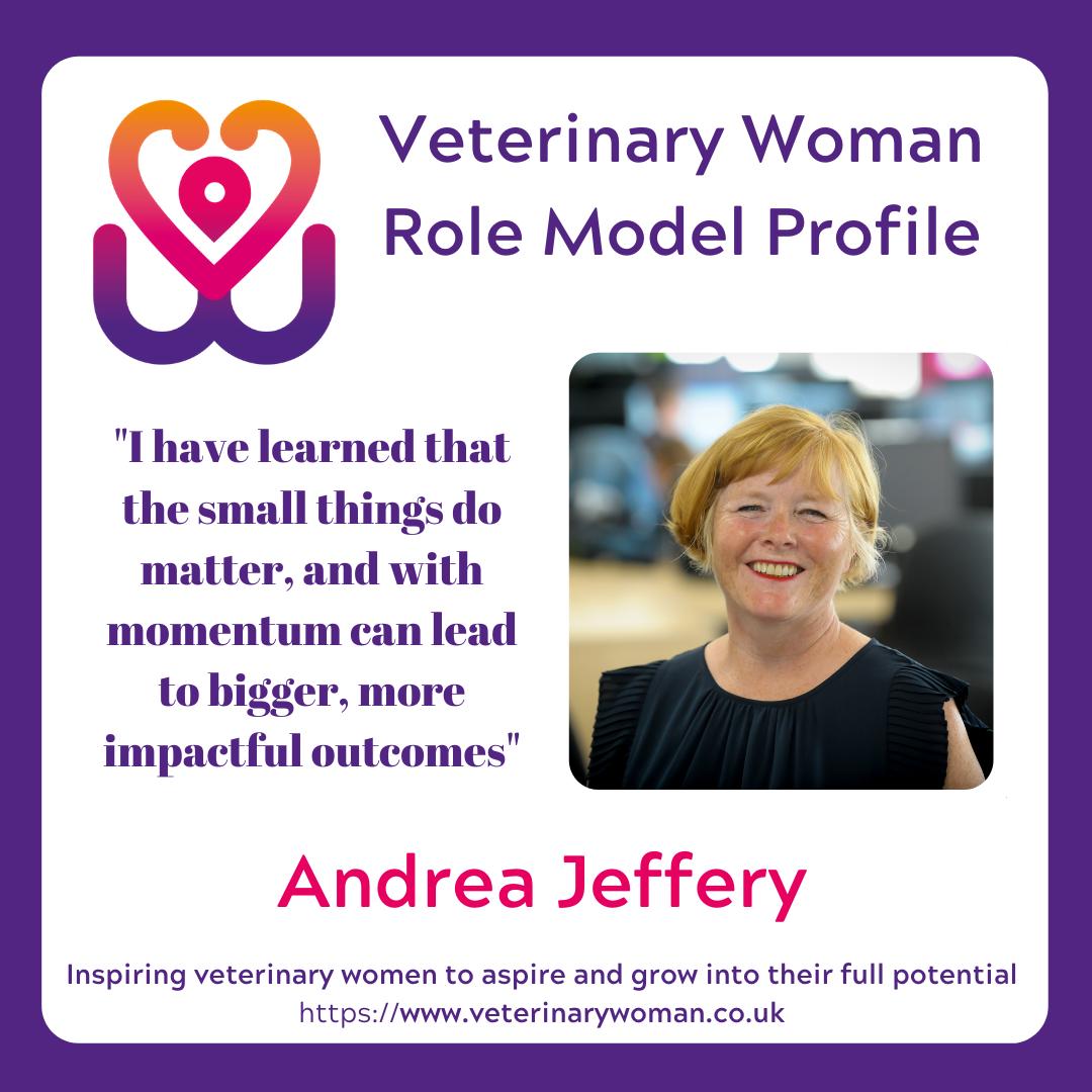 Veterinary Woman Role Model – Andrea Jeffery